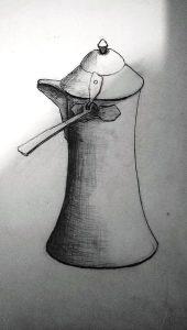 kara kalem resim
