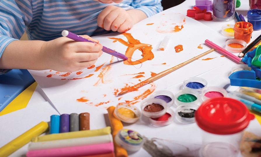 çocuk resim dersi